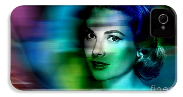 Grace Kelly IPhone 4 / 4s Case by Marvin Blaine