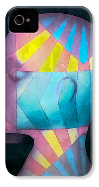 Grid Head IPhone 4 / 4s Case by Jeff  Gettis