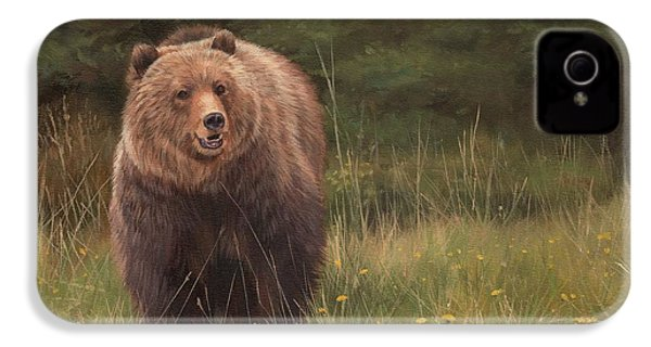 Grizzly IPhone 4 / 4s Case by David Stribbling