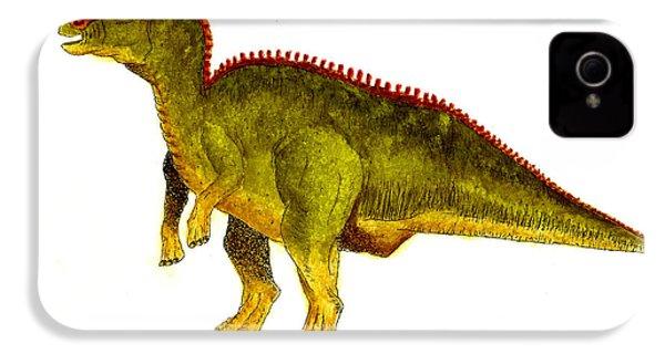 Hadrosaurus IPhone 4 / 4s Case by Michael Vigliotti