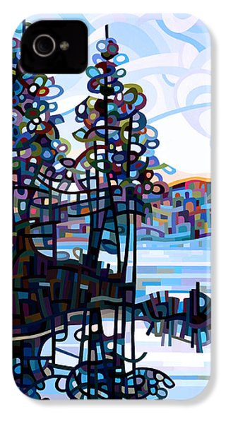 Haliburton Morning IPhone 4 / 4s Case by Mandy Budan