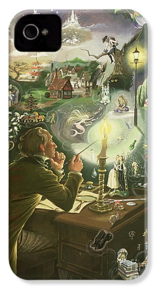 Hans Christian Andersen IPhone 4 / 4s Case by Anne Grahame Johnstone