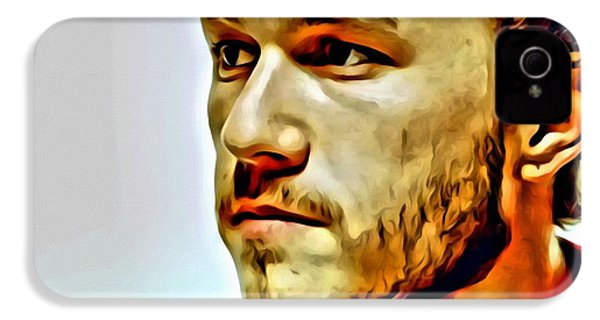Heath Ledger Portrait IPhone 4 / 4s Case by Florian Rodarte