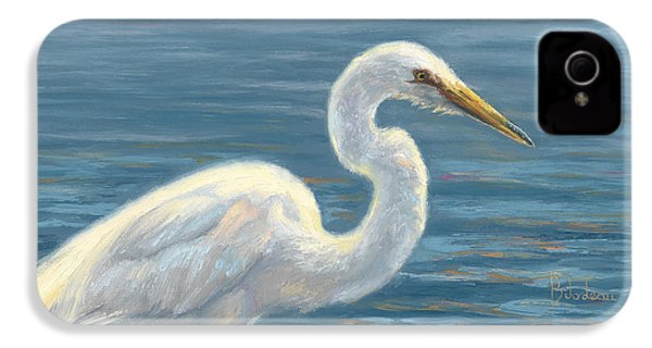 Heron Light IPhone 4 / 4s Case by Lucie Bilodeau