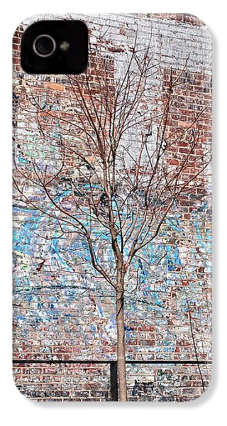 High Line Palimpsest IPhone 4 / 4s Case by Rona Black