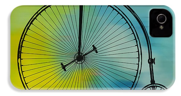 High Wheel Bicycle IPhone 4 / 4s Case by Marvin Blaine