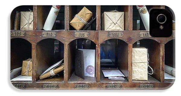 Hogsmeade Owl Post Office IPhone 4 / 4s Case by Edward Fielding