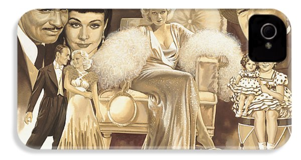 Hollywoods Golden Era IPhone 4 / 4s Case by Dick Bobnick