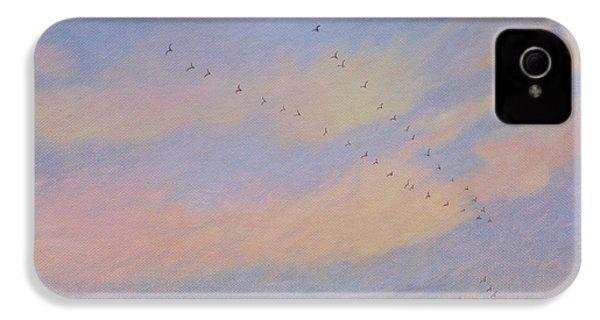 Homeward, 2004 Oil On Canvas IPhone 4 / 4s Case by Ann Brain