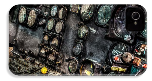 Huey Instrument Panel 2 IPhone 4 / 4s Case by David Morefield