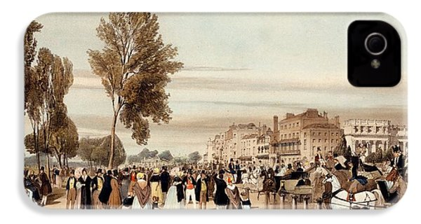 Hyde Park, Towards The Grosvenor Gate IPhone 4 / 4s Case by Thomas Shotter Boys