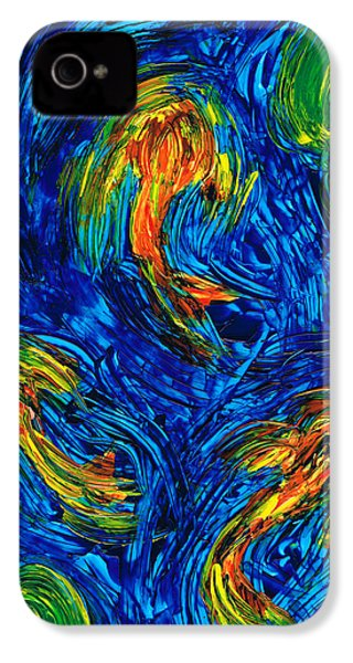 Impressionist Koi Fish By Sharon Cummings IPhone 4 / 4s Case by Sharon Cummings