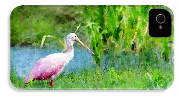 In The Bayou #1 IPhone 4 / 4s Case by Betty LaRue