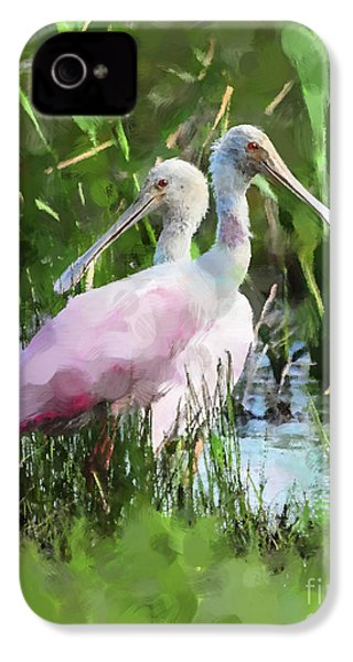 In The Bayou #2 IPhone 4 / 4s Case by Betty LaRue