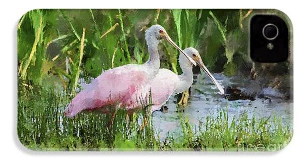 In The Bayou #3 IPhone 4 / 4s Case by Betty LaRue