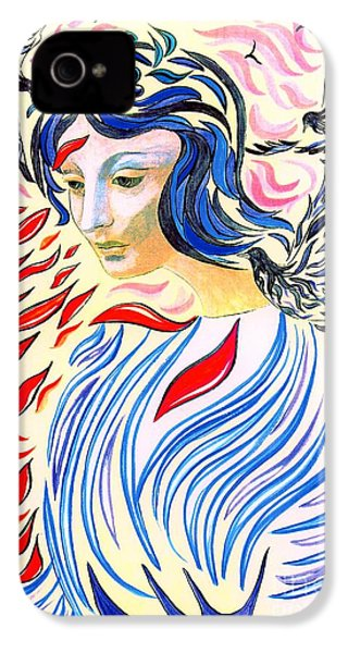 Inner Peace IPhone 4 / 4s Case by Jane Small