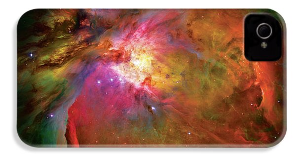 Into The Orion Nebula IPhone 4 / 4s Case by The  Vault - Jennifer Rondinelli Reilly