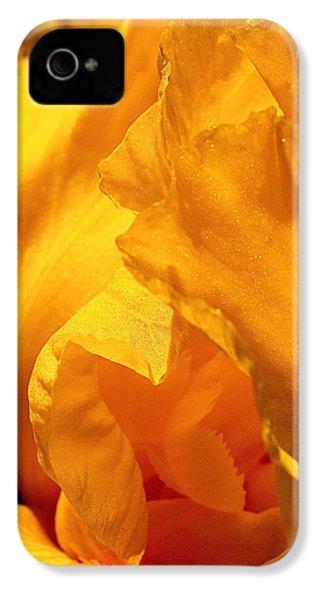 Iris Undulation IPhone 4 / 4s Case by Rona Black