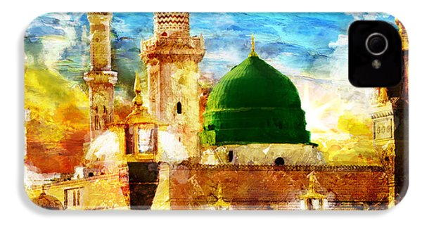 Islamic Paintings 005 IPhone 4 / 4s Case by Catf