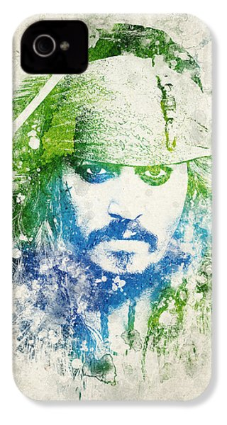 Jack Sparrow IPhone 4 / 4s Case by Aged Pixel
