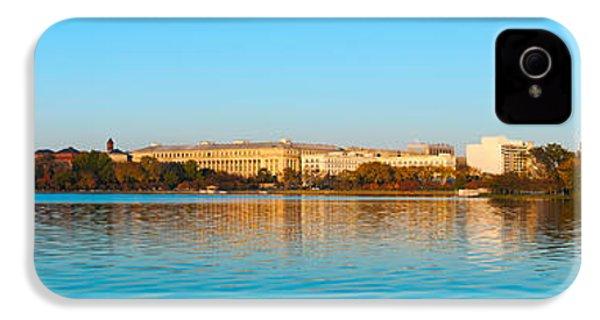 Jefferson Memorial And Washington IPhone 4 / 4s Case by Panoramic Images