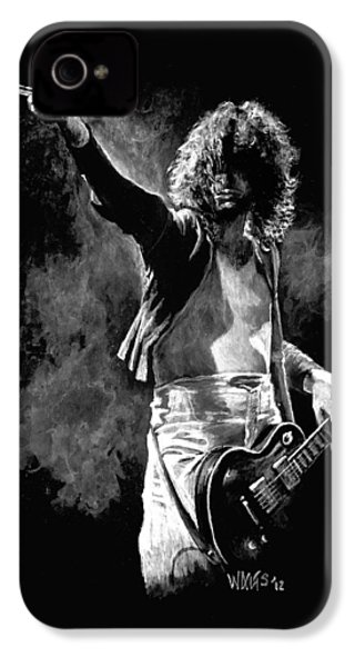 Jimmy Page IPhone 4 / 4s Case by William Walts