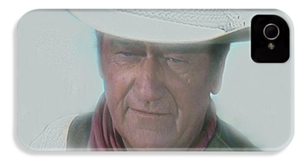 John Wayne IPhone 4 / 4s Case by Randy Follis