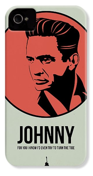 Johnny Poster 2 IPhone 4 / 4s Case by Naxart Studio