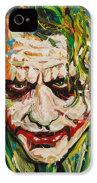 Joker IPhone 4 / 4s Case by Michael Wardle