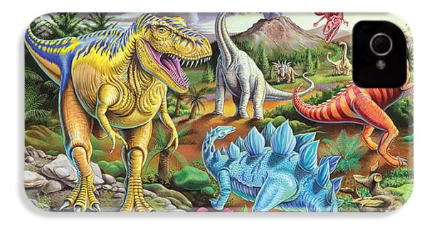 Jurassic Jubilee IPhone 4 / 4s Case by Mark Gregory