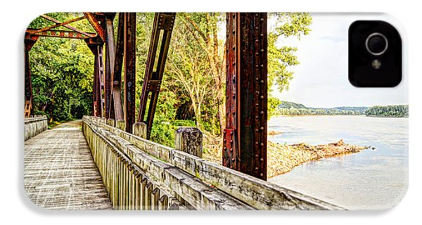 Katy Trail Near Coopers Landing IPhone 4 / 4s Case by Cricket Hackmann