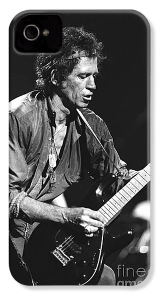 Keith Richards IPhone 4 / 4s Case by Concert Photos