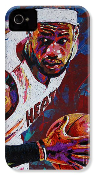 King James IPhone 4 / 4s Case by Maria Arango