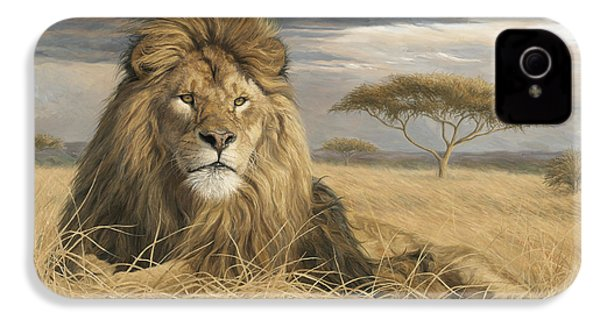 King Of The Pride IPhone 4 / 4s Case by Lucie Bilodeau
