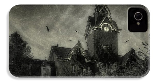 Knox County Poorhouse IPhone 4 / 4s Case by Tom Mc Nemar