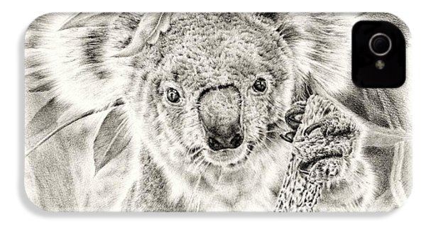 Koala Garage Girl IPhone 4 / 4s Case by Remrov
