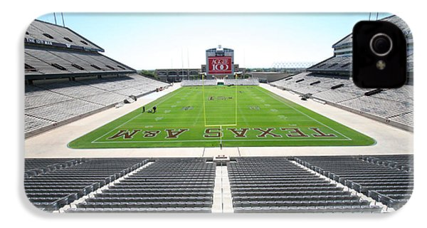 Kyle Field IPhone 4 / 4s Case by Georgia Fowler