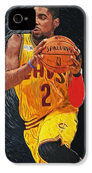 Kyrie Irving IPhone 4 / 4s Case by Taylan Soyturk