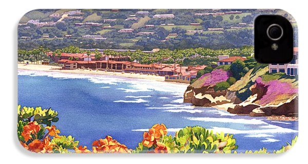 La Jolla Beach And Tennis Club IPhone 4 / 4s Case by Mary Helmreich