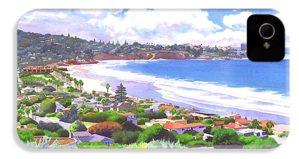 La Jolla California IPhone 4 / 4s Case by Mary Helmreich