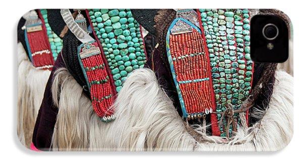 Ladakh, India Married Ladakhi Women IPhone 4 / 4s Case by Jaina Mishra