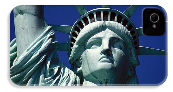 Lady Liberty IPhone 4 / 4s Case by Jon Neidert