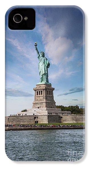 Lady Liberty IPhone 4 / 4s Case by Juli Scalzi