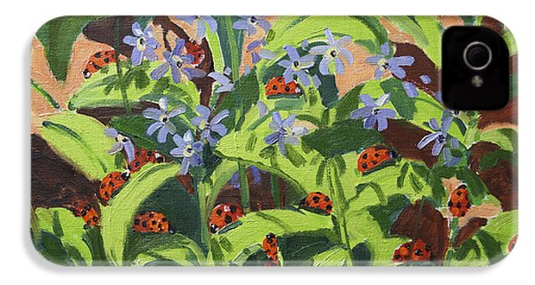 Ladybirds IPhone 4 / 4s Case by Andrew Macara