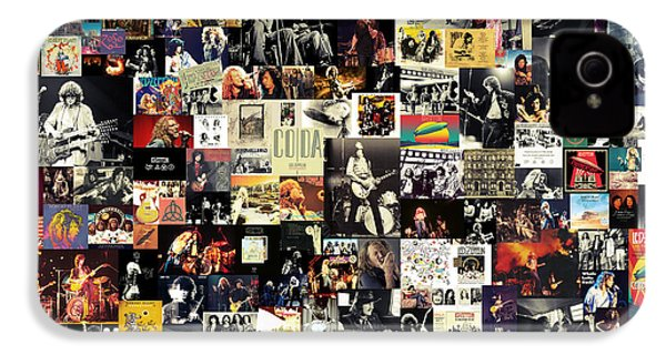 Led Zeppelin Collage IPhone 4 / 4s Case by Taylan Soyturk