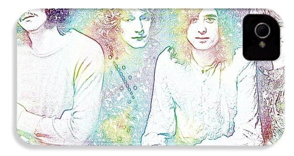 Led Zeppelin Tie Dye IPhone 4 / 4s Case by Dan Sproul