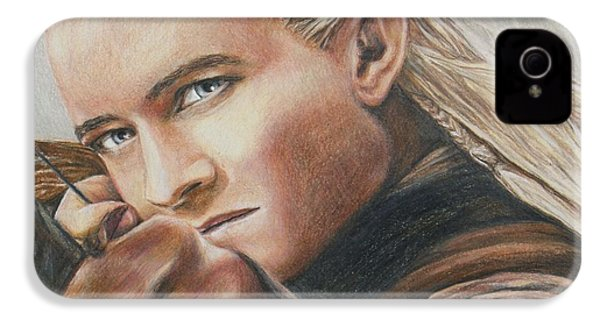 Legolas / Orlando Bloom IPhone 4 / 4s Case by Christine Jepsen