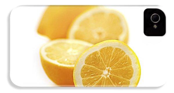 Lemons IPhone 4 / 4s Case by Elena Elisseeva
