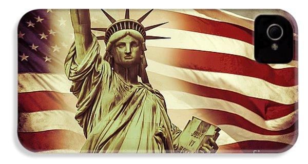 Liberty IPhone 4 / 4s Case by Az Jackson