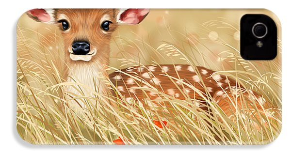 Little Fawn IPhone 4 / 4s Case by Veronica Minozzi